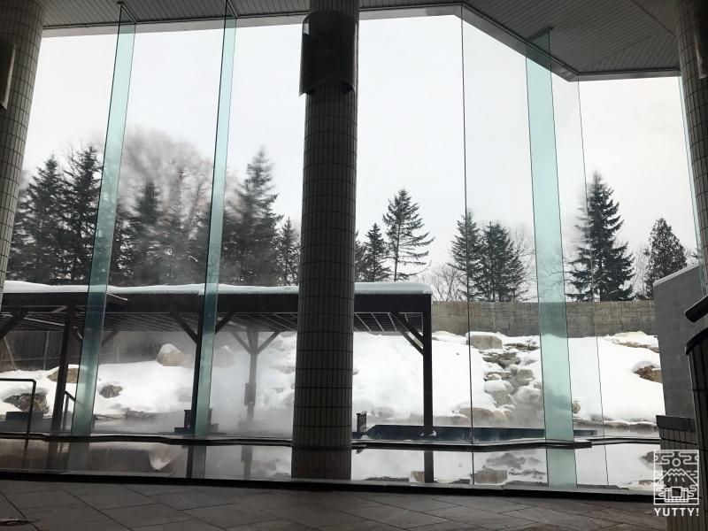 十勝川温泉第一ホテル「森の清流・滝壺の湯」の大浴場の写真