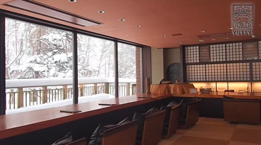 ニセコ昆布温泉 鶴雅別荘 杢の抄のラウンジの写真