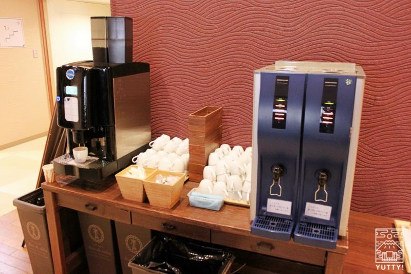 静岡天然温泉 おふろcafe bijinyu 美肌湯  のコーヒー飲み放題の写真