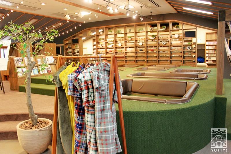 静岡天然温泉 おふろcafe bijinyu 美肌湯  のリラックススペースの写真