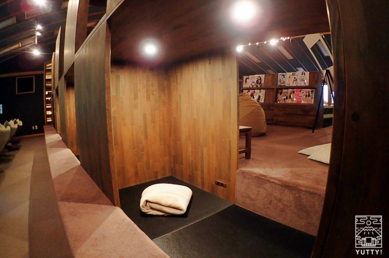 静岡天然温泉 おふろcafe bijinyu 美肌湯  の「ヒトシェルフ」の写真