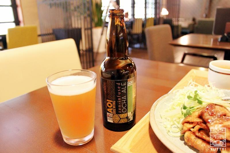 静岡天然温泉 おふろcafe bijinyu 美肌湯  のオリジナルビール「AOI BREWING」の写真