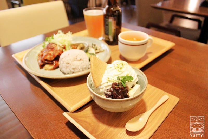 静岡天然温泉 おふろcafe bijinyu 美肌湯  の「和三盆パフェ」の写真