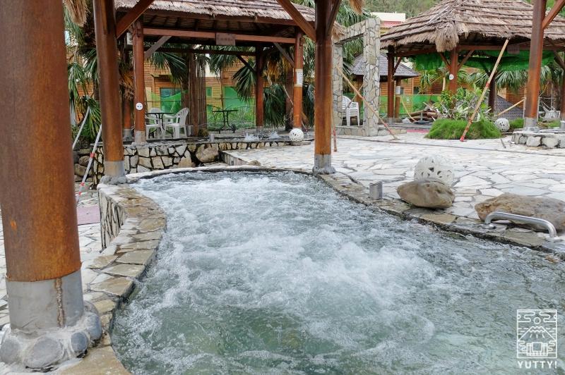 牡丹風情温泉の露天SPAの写真