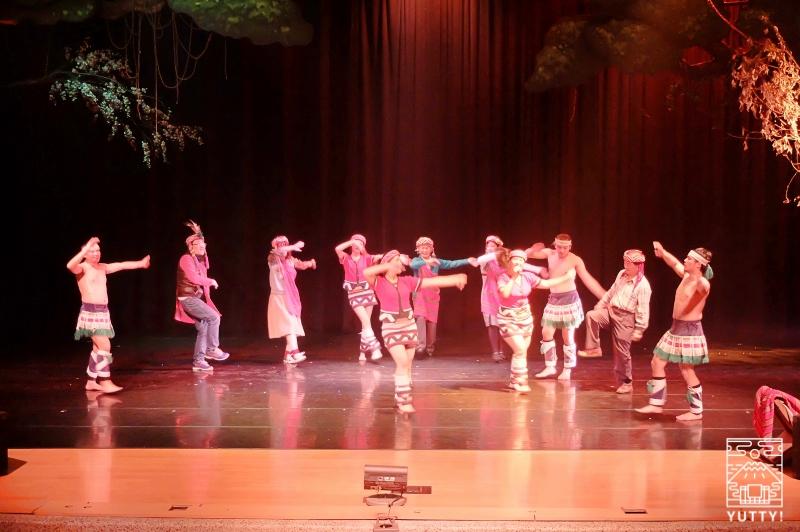 「原住民族」ミュージカルの写真