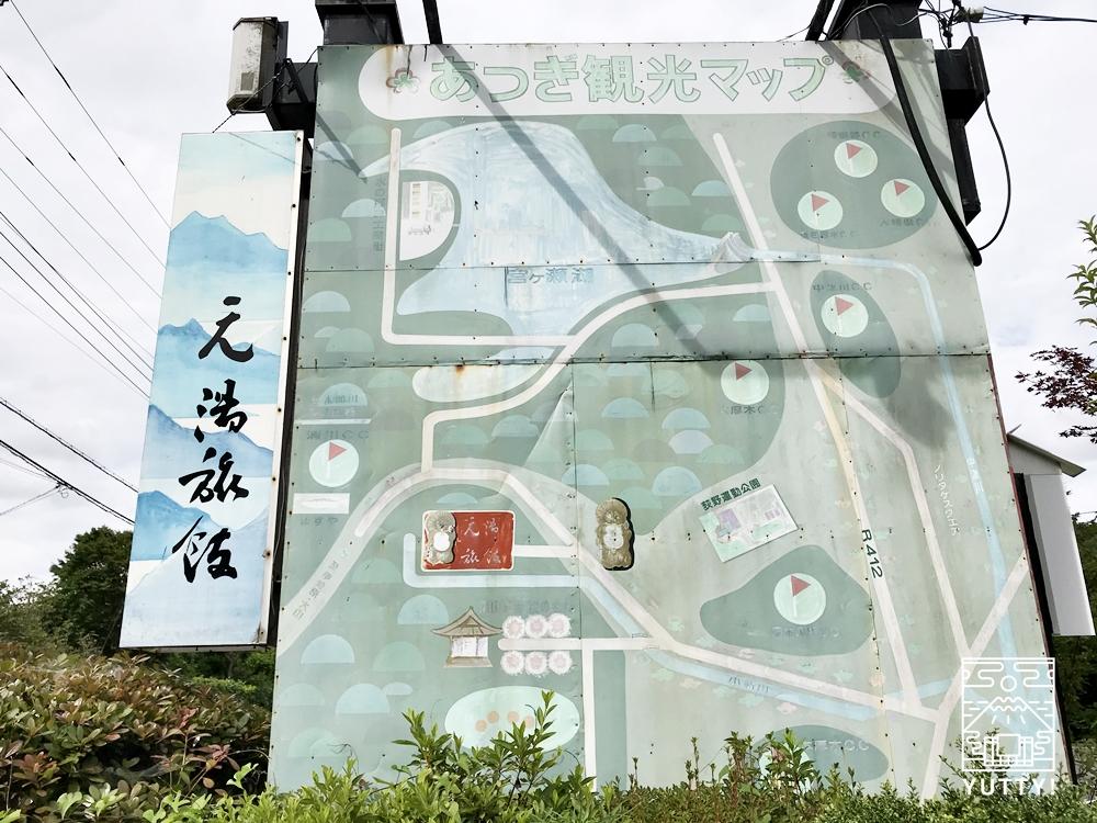 厚木 元湯旅館の周辺マップ
