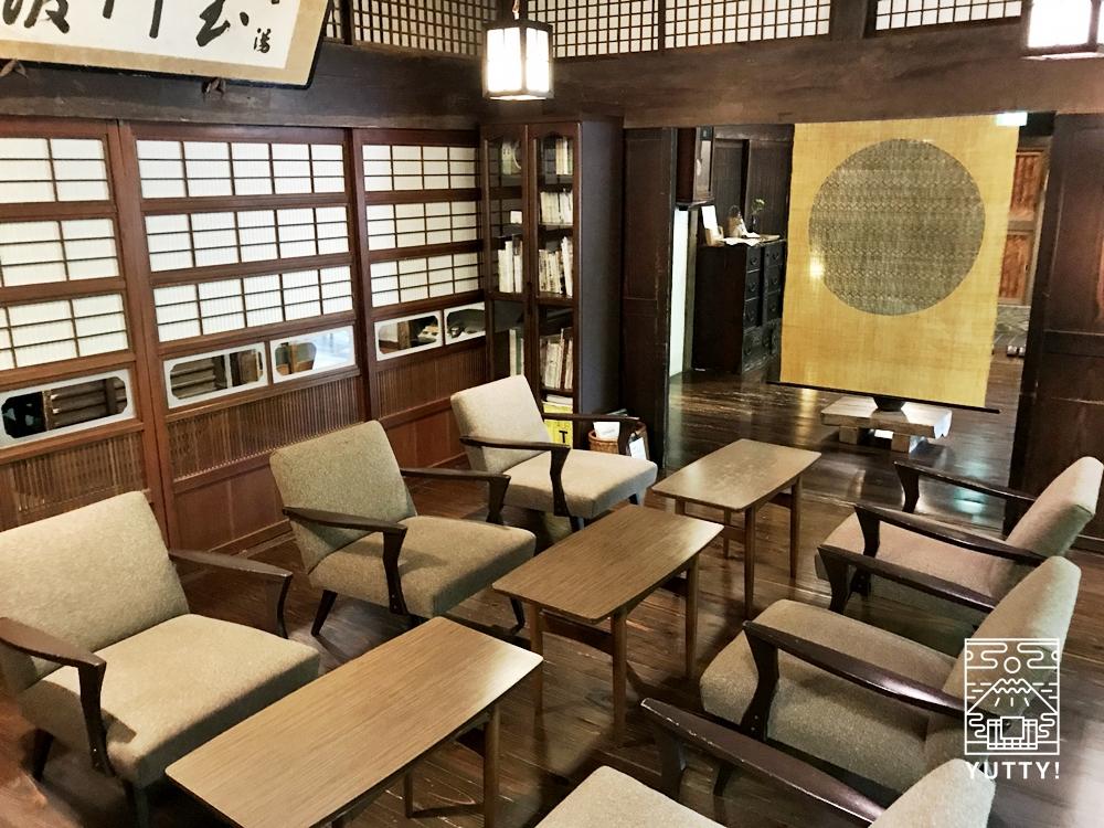 七沢温泉元湯玉川館のラウンジ2