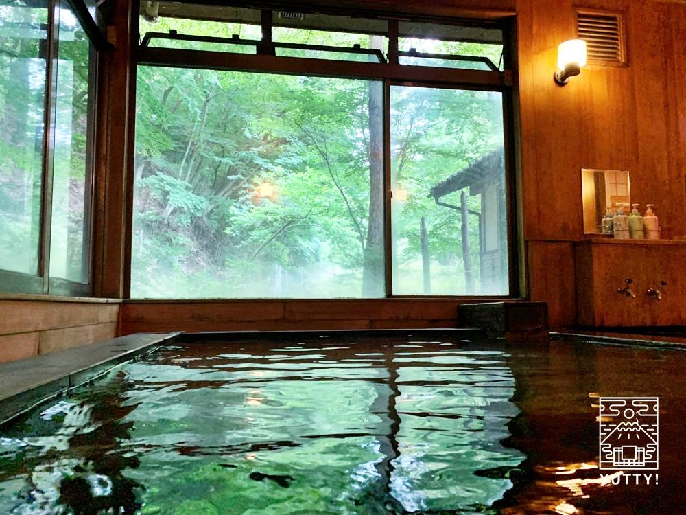 七沢温泉元湯玉川館の浴槽