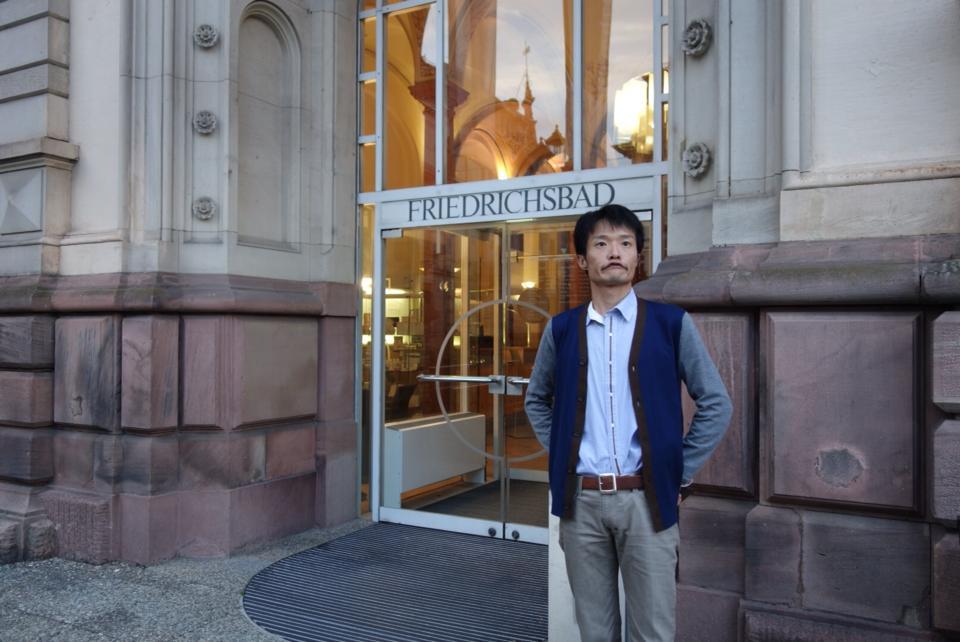 フリードリヒス浴場の玄関の写真
