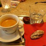 バーデン=バーデン市街のカフェの写真