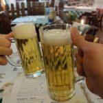 レーベンブロイレストラン バーデン=バーデン店のビールの写真