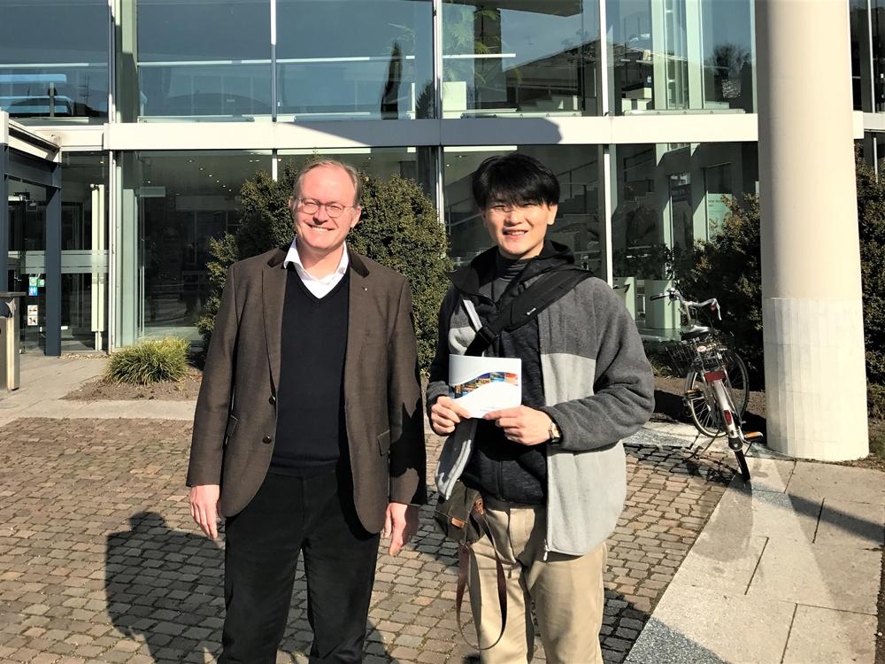 CEOのJurgen Kannewischer様との写真