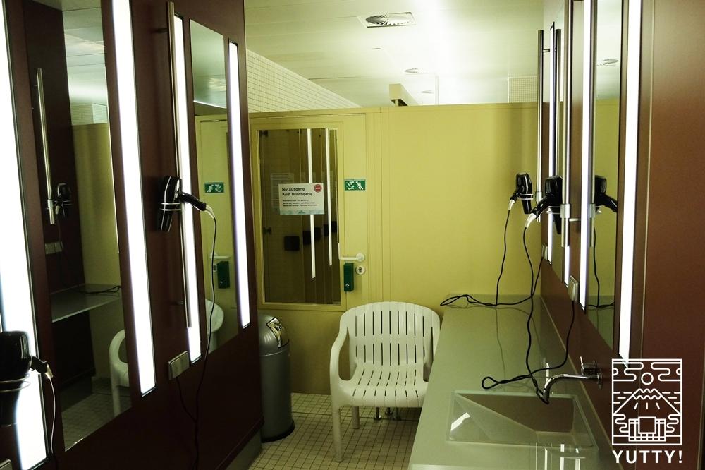 カラカラ浴場の脱衣所の写真