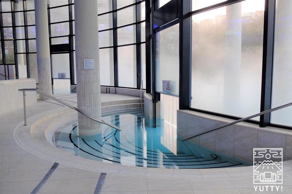 カラカラ浴場の内湯の写真