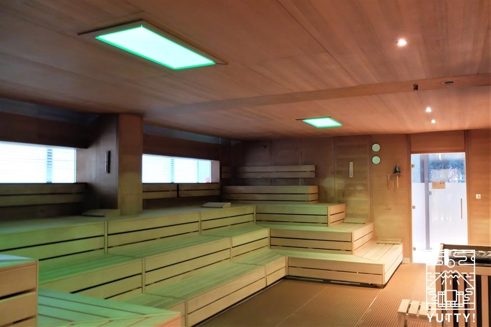 カラカラ浴場のサウナの写真