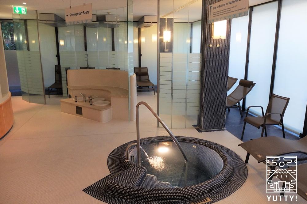 カラカラ浴場のジャグジーや足湯の写真