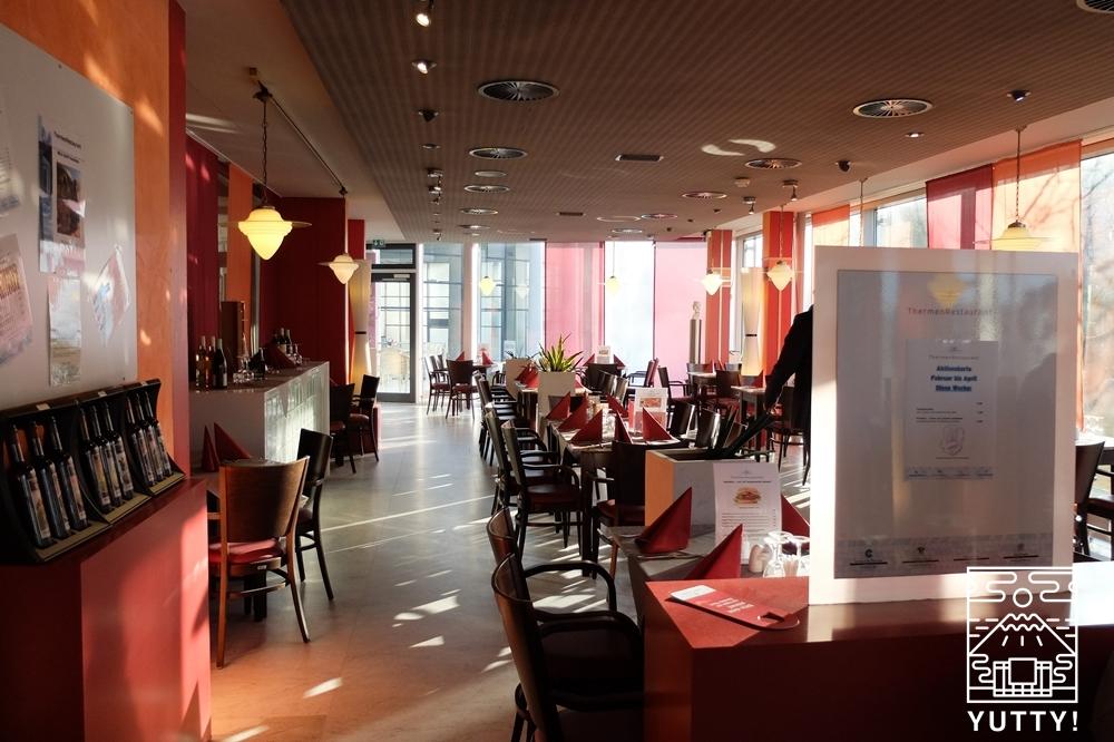 カラカラ浴場のレストランの写真