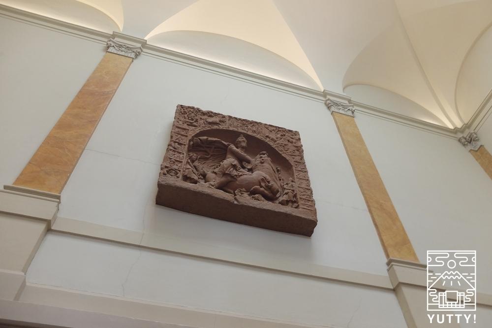 フリードリヒス浴場のロビー壁面の写真