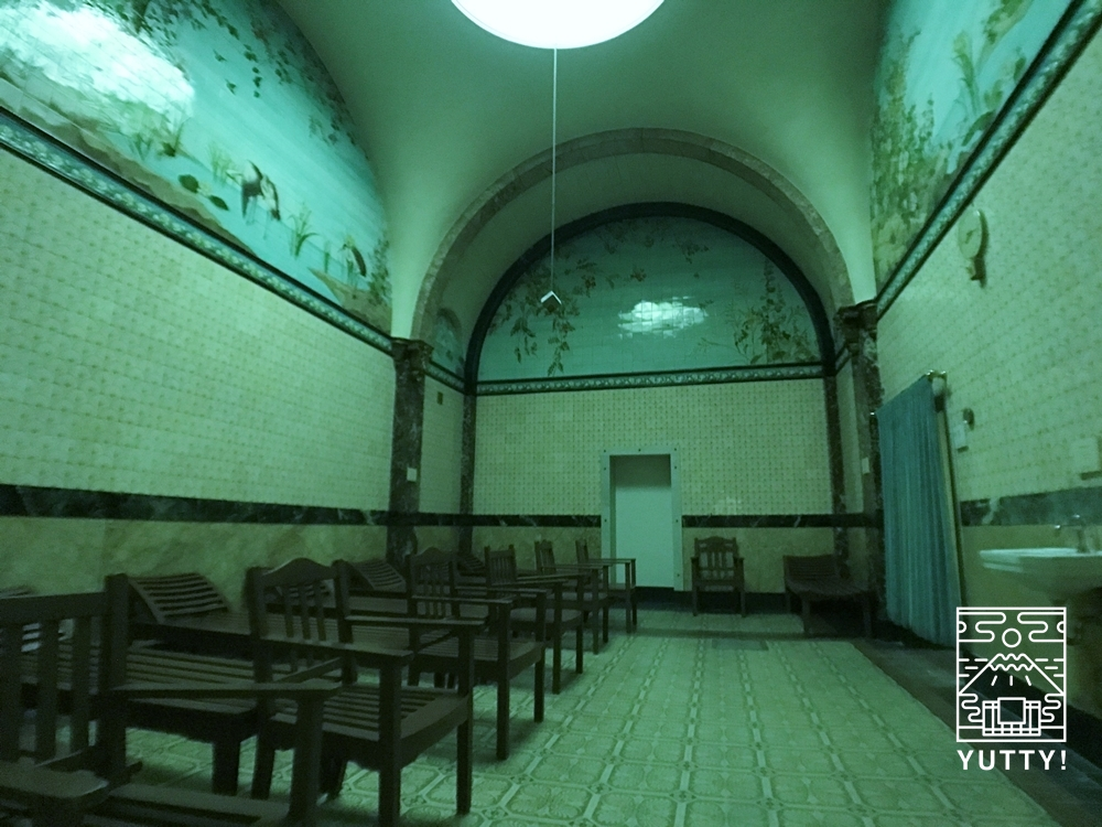 フリードリヒス浴場のサウナの写真