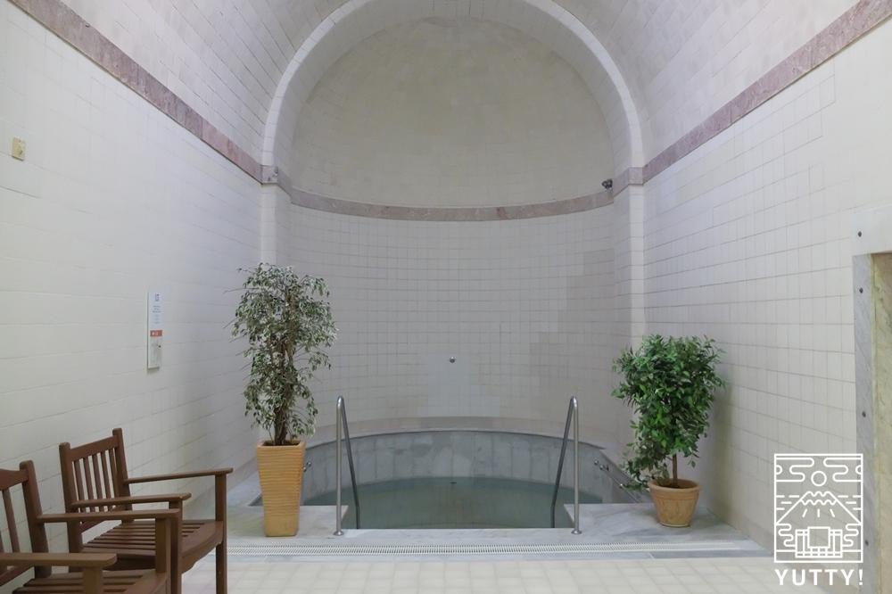 フリードリヒス浴場の水風呂の写真