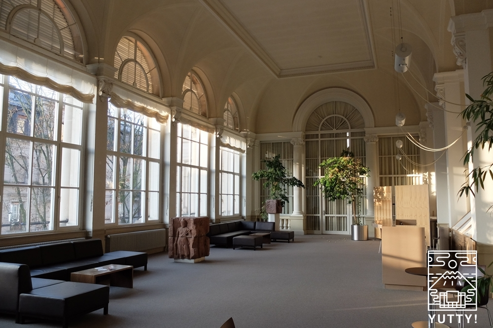 フリードリヒス浴場のホールの写真