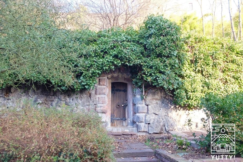 フリードリヒス浴場の源泉口の写真