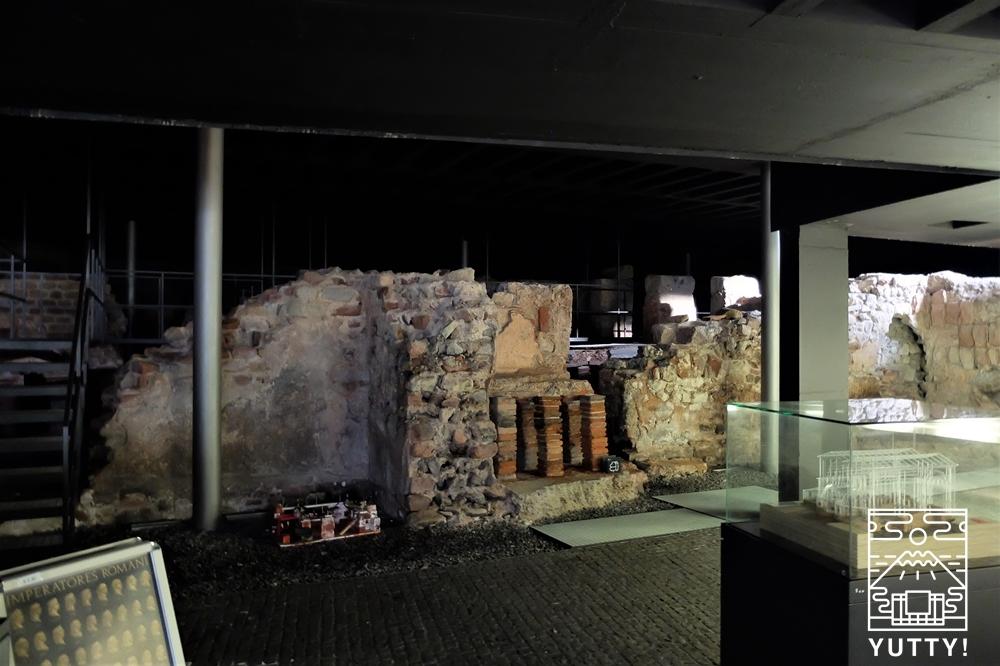 フリードリヒス浴場の浴場遺跡の写真