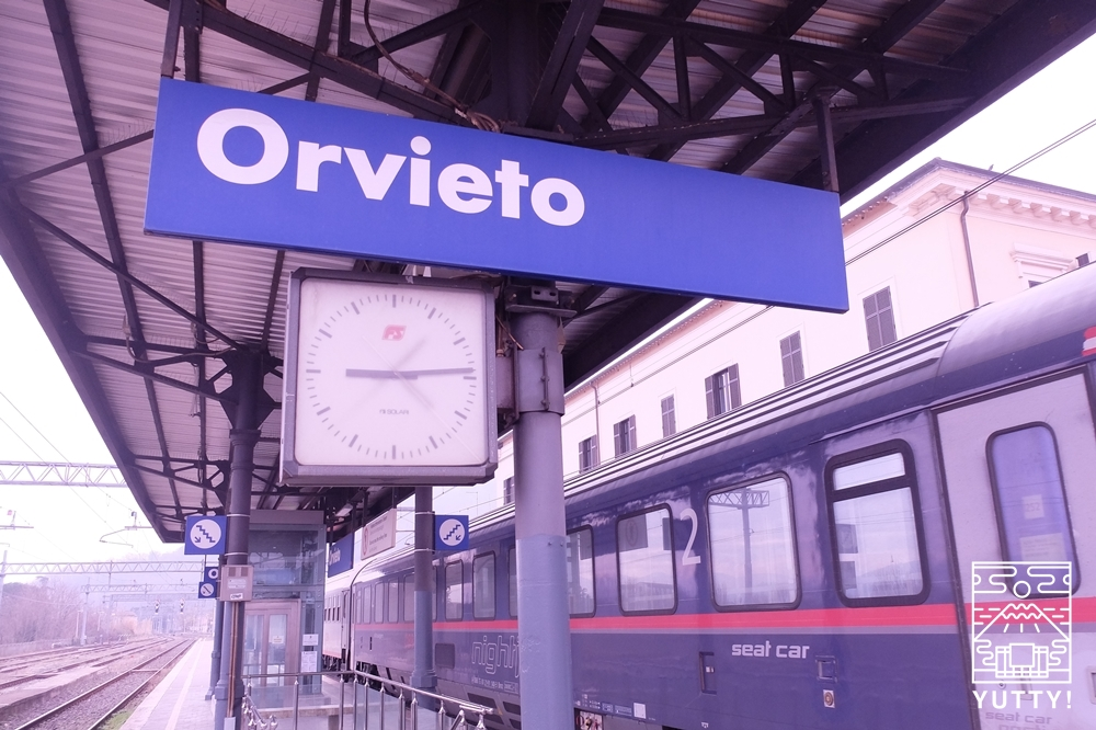 オルビエート駅の写真