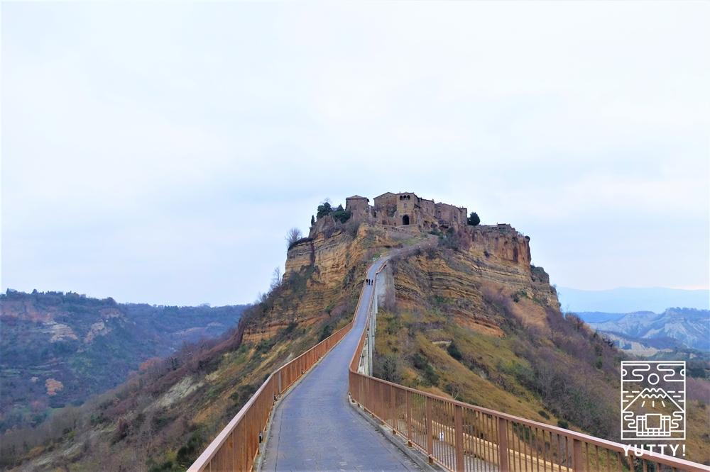 チヴィタの景色の写真
