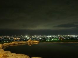 最高の夜景と露天風呂