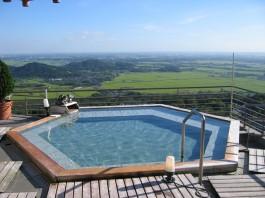 茨城 筑波山ホテル 青木屋 露天風呂の写真