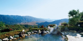 圧倒的な景色を眺めることができる露天風呂