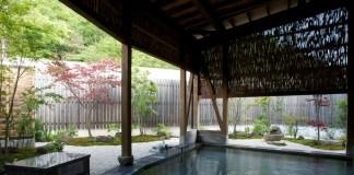 仙台 かたくりの宿 露天風呂の写真