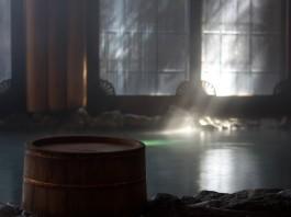 大丸別荘の内風呂の写真