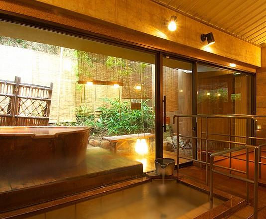 竹取亭別邸康貴の女湯の写真